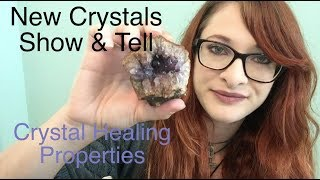ASMR New Crystals Show and Tell