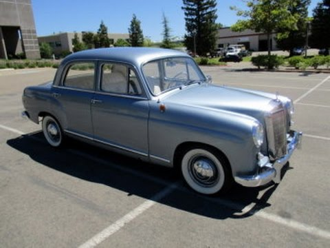 1959 mercedes benz 180d on youtube for 1959 mercedes benz