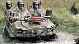 Самый тюнингованный УАЗ - техника для охоты и рыбалки