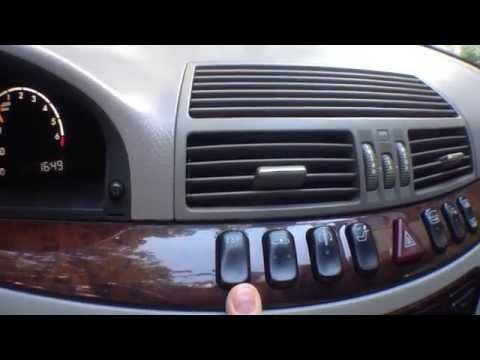 Mercedes Benz S320 W220 обзор