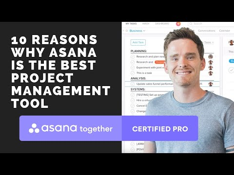 10 Reasons why Asana is the best project management tool