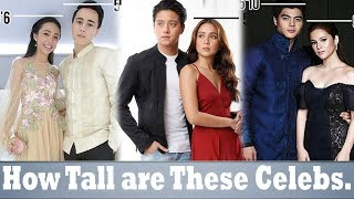 Kapamilya Love Teams With Surprising Height Differences!