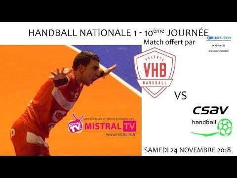 2018 11 24 Handball   Championnat N1M poule 4 journée 10   VHB vs CSAV