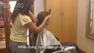 How to apply Sunliss keratin hair straightening treatment - Part 2 of 5