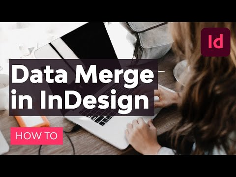 How To Use Data Merge In InDesign