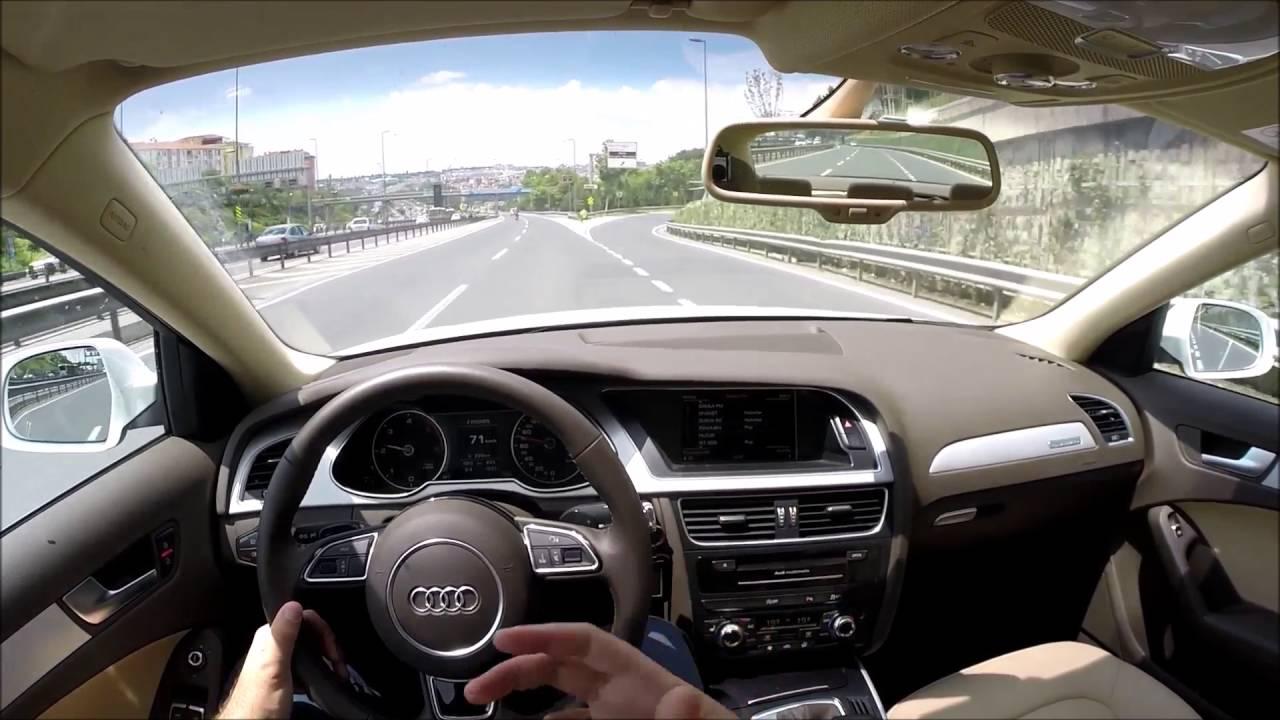 Audi A4 2.0 T >> 2015 Audi A4 B8 2.0 Tdi 177 Hp Quattro Test - YouTube