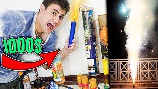 GASTEI R$1000 NAS MAIORES BOMBAS!! (INCRÍVEL!) [ REZENDE EVIL ]