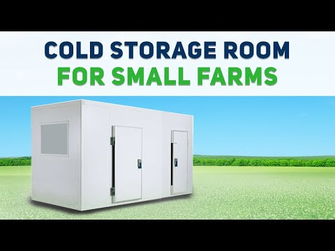 How To Build A Low Cost, Cheap Cold Storage Room For Small Farms, Agriculture Products.