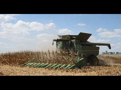 John Deere 612C 12 Row Corn Head