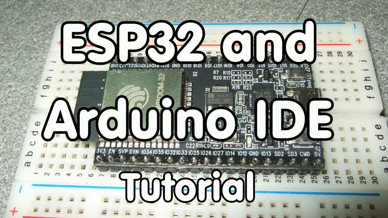 #103 ESP32 Tutorial / Arduino IDE / Tests / Comparison with ESP8266