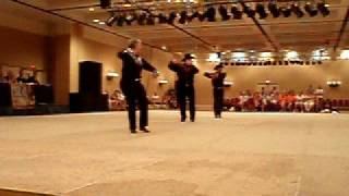 Stand / 1st World OutGames Advanced Line Dance