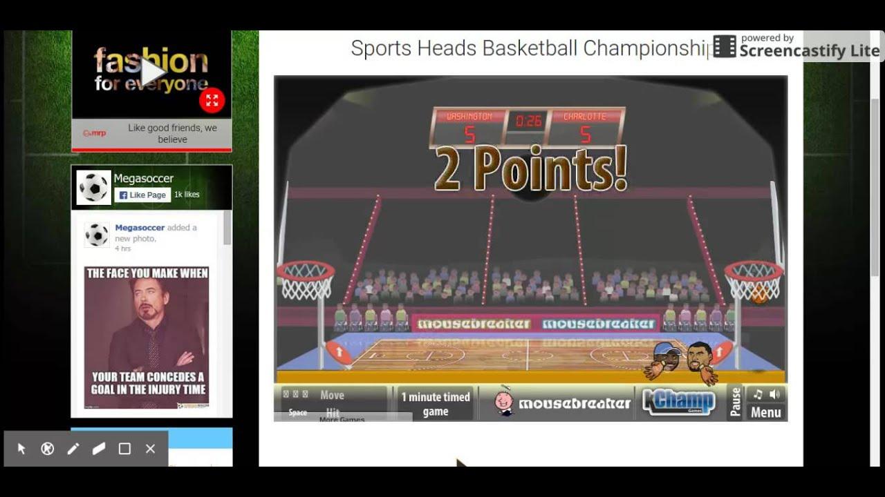Head Basketball Season Ep 2 First Loss Youtube