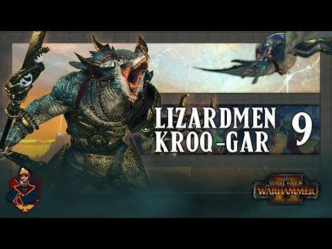 [9] Total War: Warhammer 2 (Lizardmen) Campaign Walkthrough - KROQ INVADES ULTHUAN!