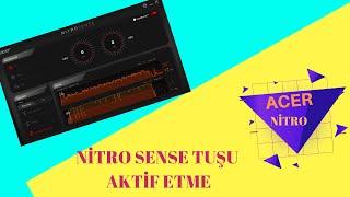 ACER NİTRO AN515-43---NİTROSENSE KURULUM VE AKTİF ETME!!! (INSTALL AND SETUP)