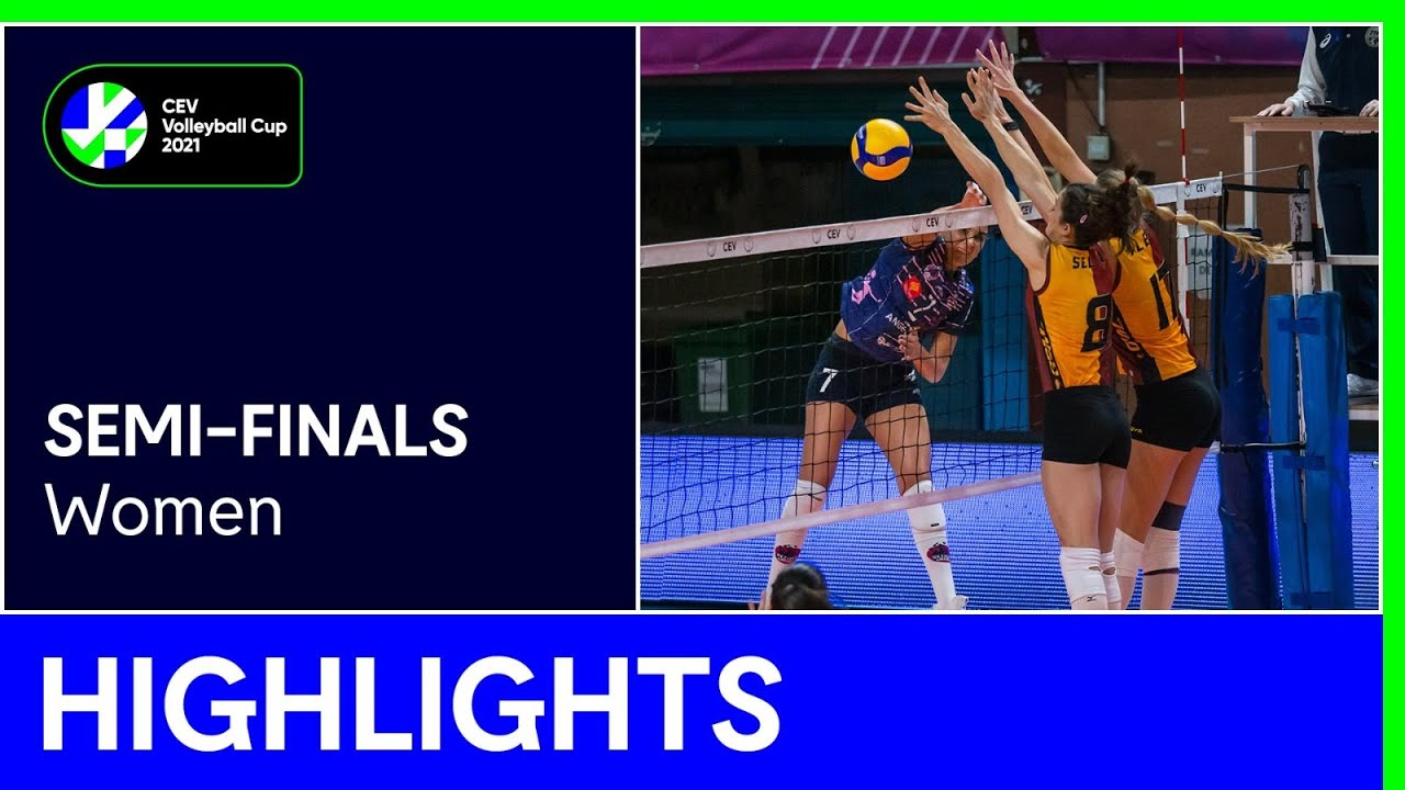 BEZIERS Angels vs. Galatasaray HDI ISTANBUL Highlights - #CEVCupW
