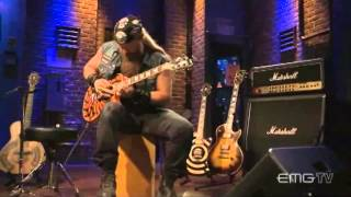 Zakk Wylde rips amazing guitar solo over Andy James track, EMGtv720p H 264 AAC