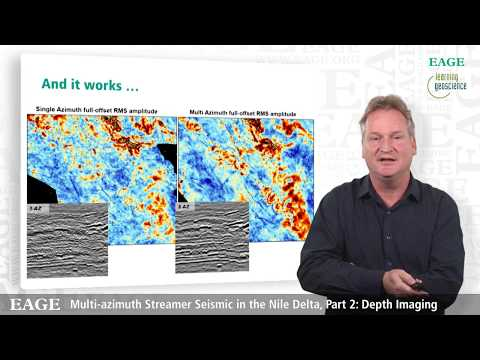 EAGE E-Lecture: Multi-Azimuth Streamer Seismic in The Nile Delta by Walter Rietveld