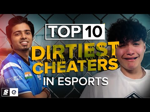 The Top 10 Dirtiest Cheaters in Esports Who Got Destroyed