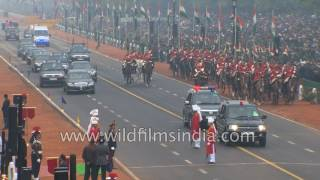 Video India's 68th Republic Day 2017 - Part 1 - National and foreign leaders arrive download MP3, 3GP, MP4, WEBM, AVI, FLV September 2018
