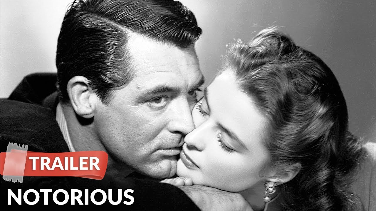 Notorious 1946 Trailer | Alfred Hitchcock | Cary Grant | Ingrid Bergman