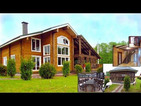 Дом твоей мечты в Беларуси! Новый деревянный сруб с мансардой, камином и баней, благоустроенный, сад