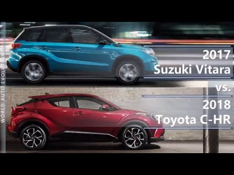 2017 Suzuki Vitara vs 2018 Toyota C-HR (technical comparison)