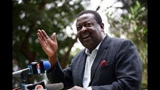 Mudavadi says Kibra is not Raila Odinga's political bedroom