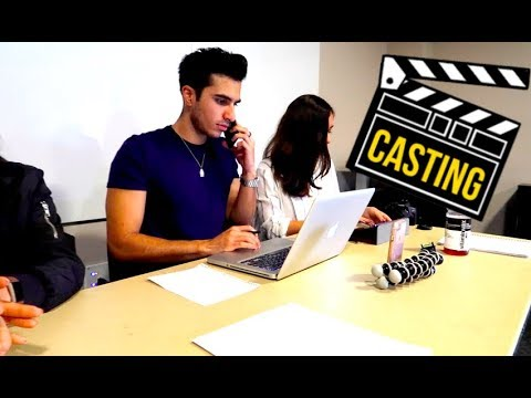 A DAY AS A CASTING DIRECTOR! (Fashion Show)