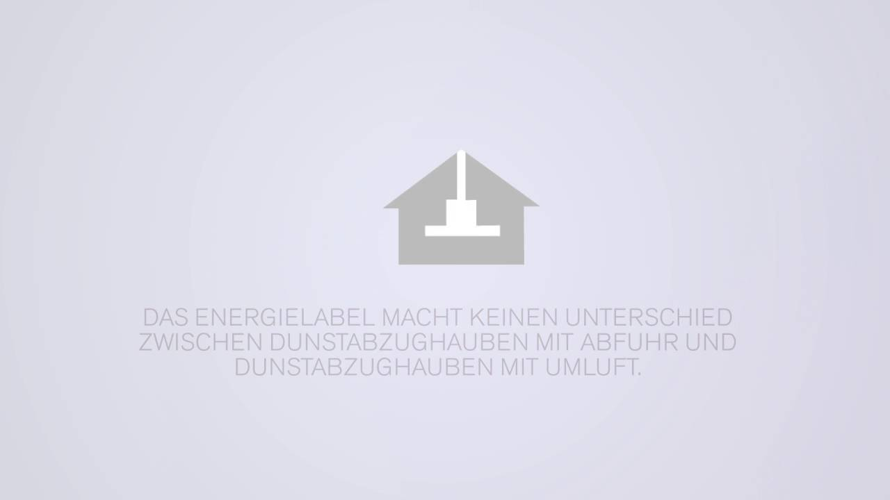 novy energielabel für dunstabzughauben youtube