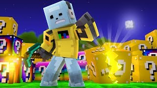 I AM NEVER PLAYING THIS GAME AGAIN!!  Minecraft Robot Gaming plays UN-Lucky Wars!