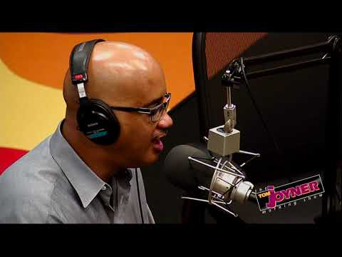 Comedian John Henton visits the Tom Joyner Morning  Red Velvet Cake Studios