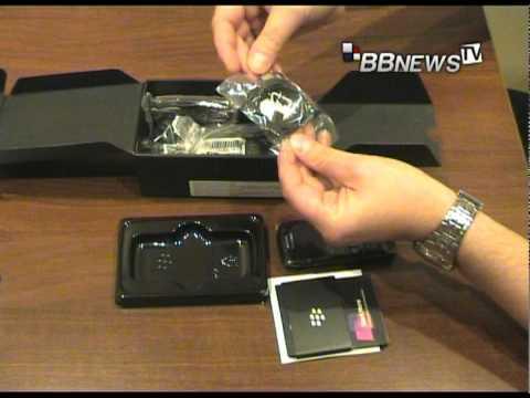 Rozpakowanie BlackBerry Pearl 3G