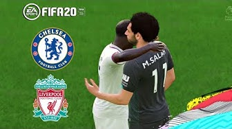 FIFA 20 PS4 Gameplay Liverpool v Chelsea Premier League FIFA 2020