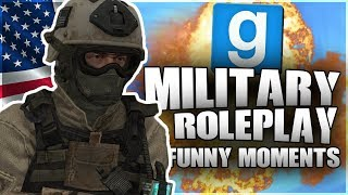 EPIC JOINS THE ARMY + FUNNY DRUNK MAJOR! (GMOD MILITARY RP FUNNY MOMENTS!)