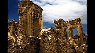 Руины древнего Персеполиса (Иран)