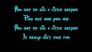 Dig A Little Deeper - The Princess And The Frog Lyrics HD