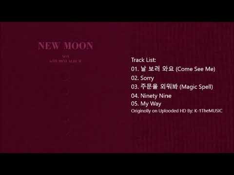 Download FULL ALBUM AOA - NEW MOON 6th Mini Album Mp4 baru