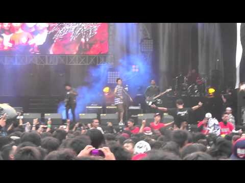 Revenge The Fate - Kashmir (Live At Hellprint 08/02/2015)