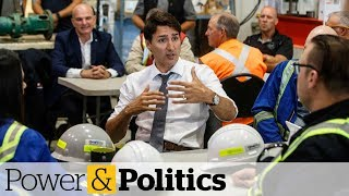 Trudeau visits Alberta pipeline site, says national unity not under threat | Power & Politics
