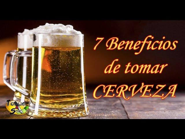 7 Beneficios De Tomar Cerveza Te Sorprenderás Toque Y Sazón Youtube
