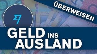Geld überweisen ins Ausland (Günstig & Schnell) - Tutorial
