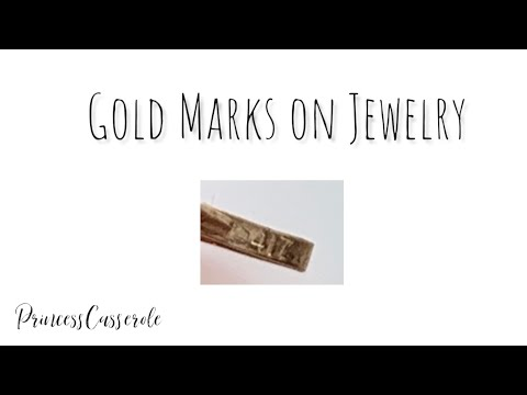 Gold Marks on Jewelry What Do They Mean?