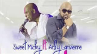Gambar cover Arly Lariviere Ft Sweet Micky- Met Ke (Lyrics)