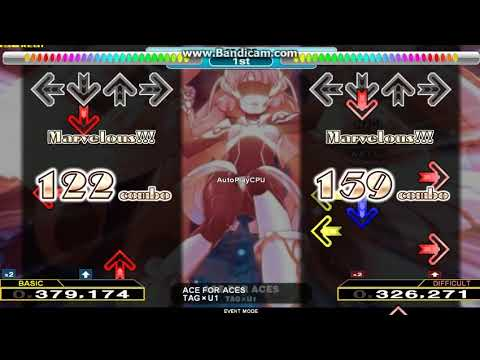 [DDR A / StepMania] ACE FOR ACES [SINGLE-BASIC + SINGLE-DIFFICULT]