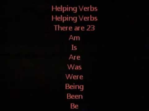 Helping Verbs Song