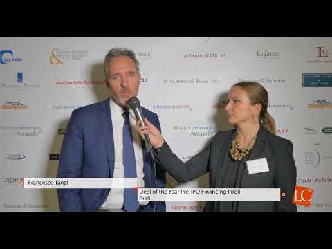 Francesco Tanzi - Financecommunity Awards 2017 by financecommunity.it