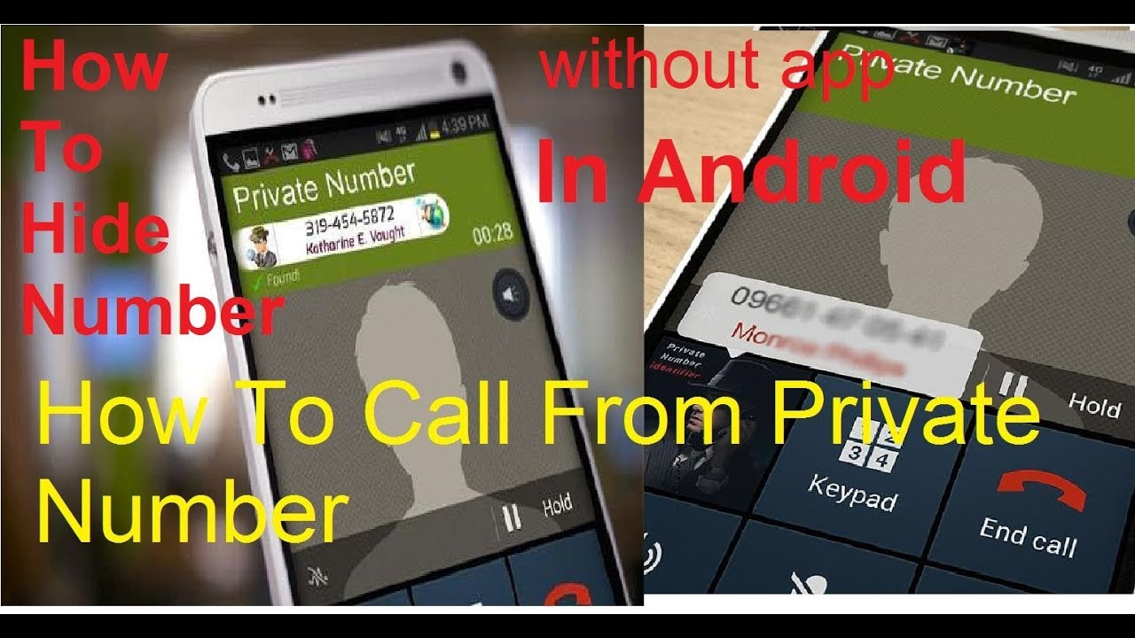 How to Hide Your Number During Call | Call From Private ...