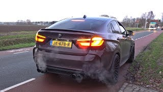 BMW X6M F86 (725HP) with Fi Exhaust - Revs, Accelerations & Stopped by the Police!
