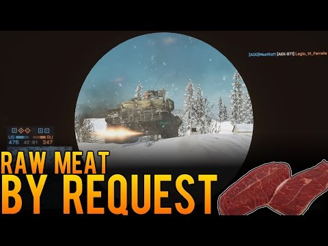 Raw Meat - Anti-Tank Engineer by Request - Battlefield 4 (BF4) Hammerhead Gameplay