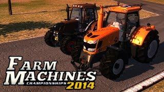 Farm Machines Championships 2014 - Corrida de Tratores